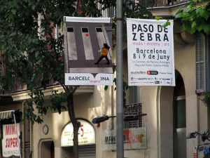 Baner in the city