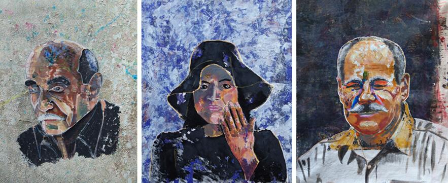 Série portraits posthumes