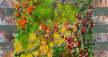 Au printemps les couleurs chantent et éblouissent, se mélangent et jouent entre elles